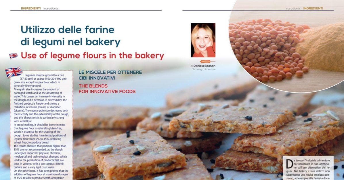 Le farine di legumi nel bakery